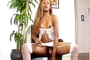Chanel is banging tasty tranny shemales man...