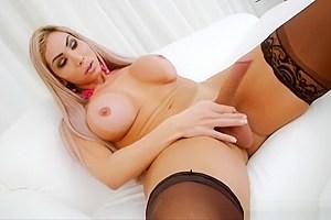 Amazing big tits cock...