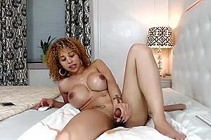 Solo jerk off sensual scene...