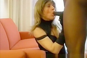 Gets black cock...