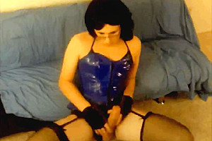 Ts kimmy klover loves her blue cumshots...