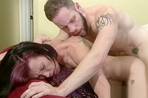 Huge boobs anal slammed...
