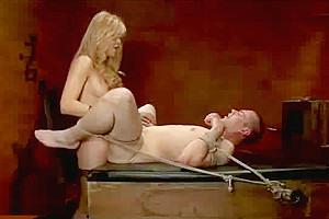 Blonde while he is cumming...