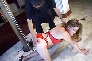 Gets punished...