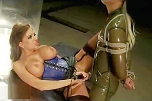 Busty babe hot...