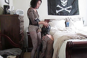 Using my new panty for first time on...