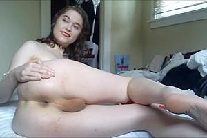 Attractive masturbates...