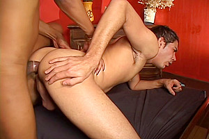Anal action...