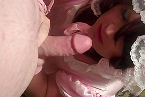 Sissy adult baby cock...