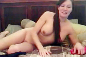 Kinky tanny from georgia stripping in natures garb...