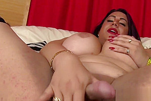 Fingers her tight asshole...