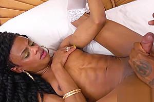 Ebony ts anally drilled...