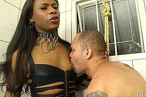 Perla lohan is a enjoying a guy...