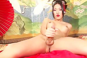Compilation shesmale japan cums...
