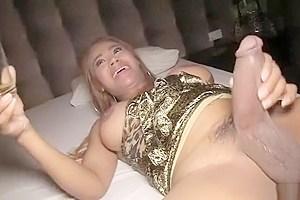 Huge dicked jasmine peeing...